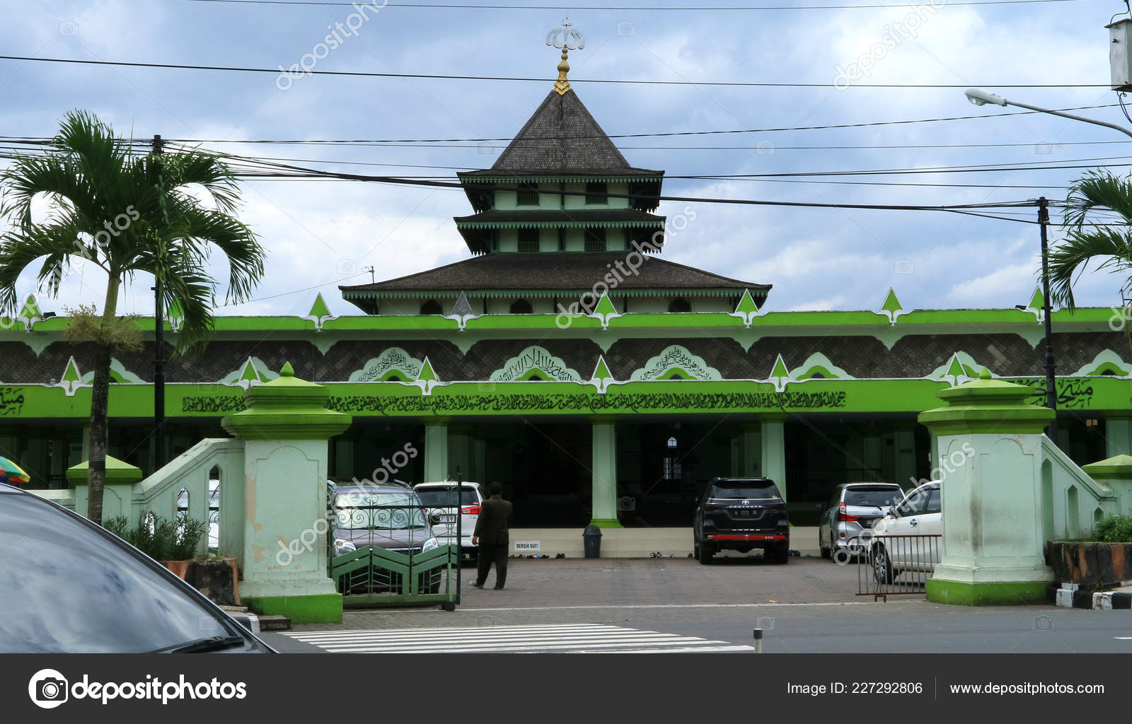 Magelang Indonesia February 2018 Magelang Grand Mosque Known