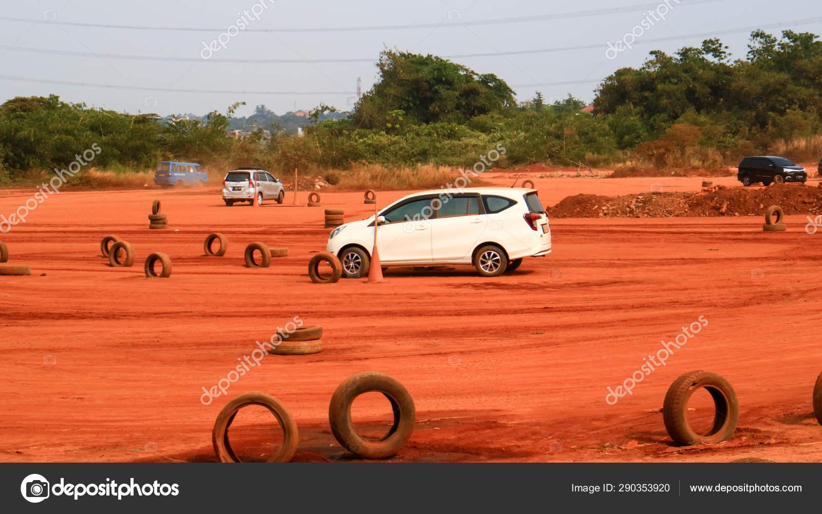 Depok Indonesia July 219 Field Learn Drive Car Sukmajaya