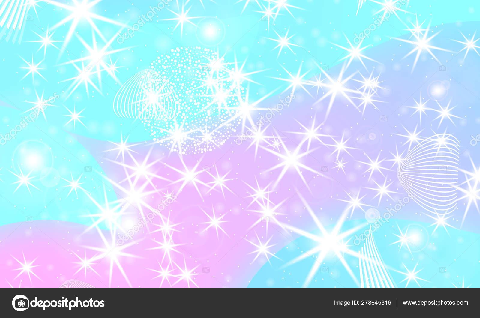 depositphotos 278645316 stock illustration fairy background unicorn pattern