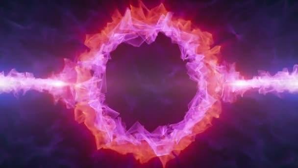 Fialový kroužek Crystal Logo Hd