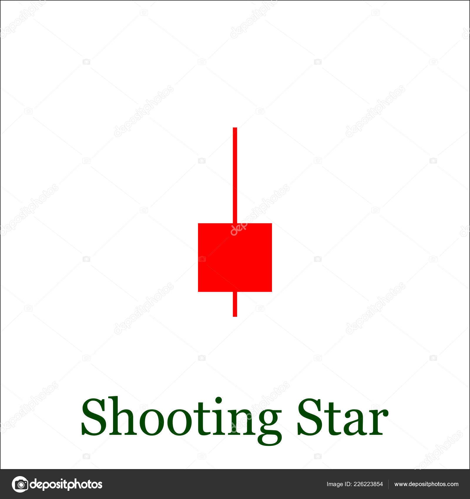 Motif étoile Filante Chandelier Graphique Ensemble Bâton