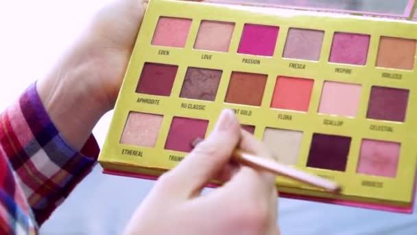 Make-up kosmetické palety plné hd