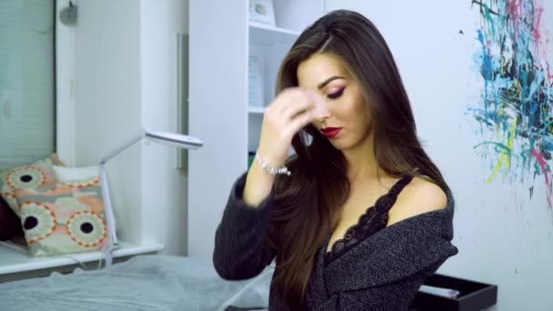 Make-up model 4k videa