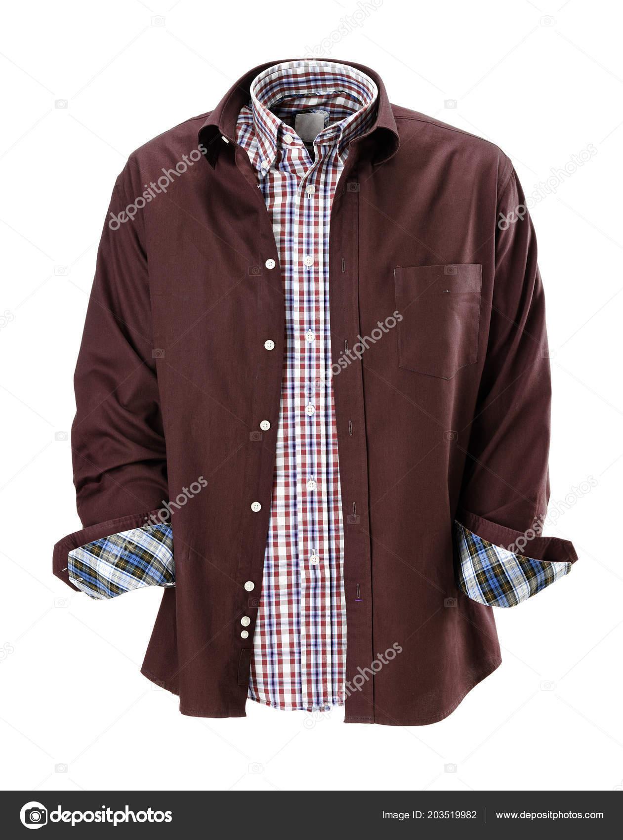 7500f1061 Camisas Sport Para Hombre Aislado — Foto de stock © estudiosaavedra ...