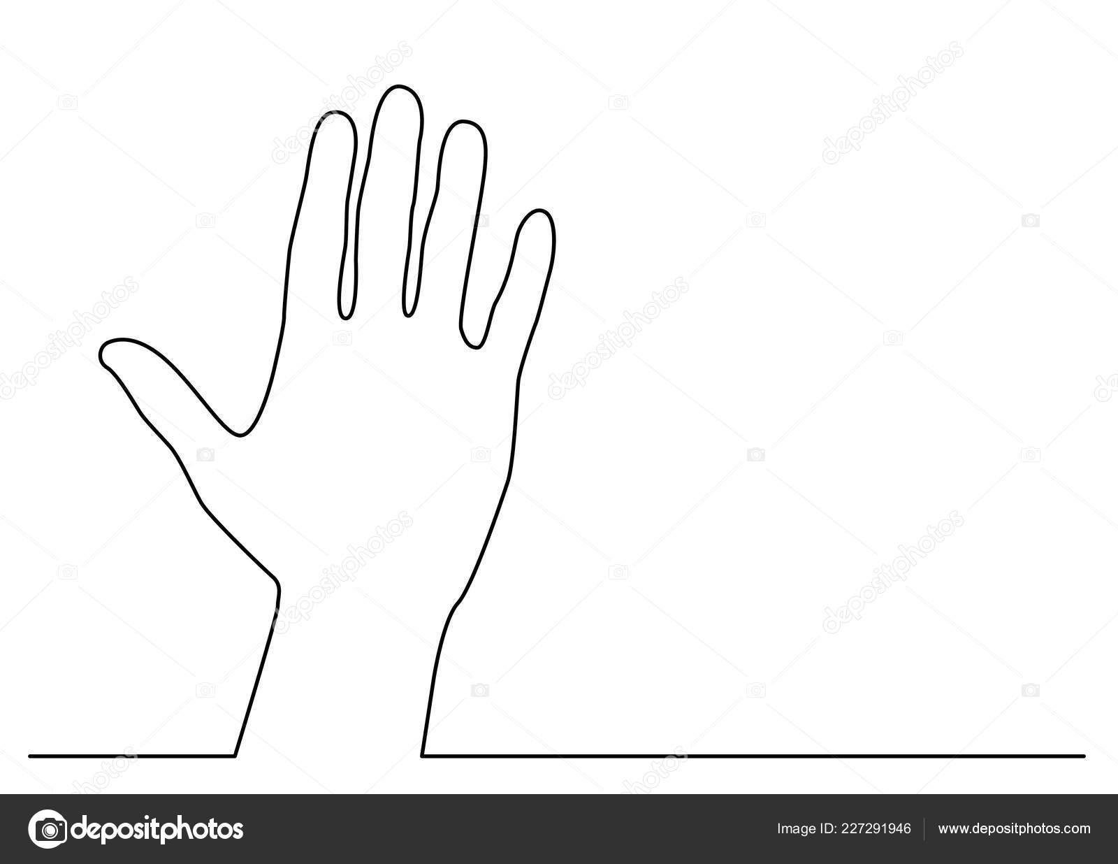hand waving drawing - HD1600×1236