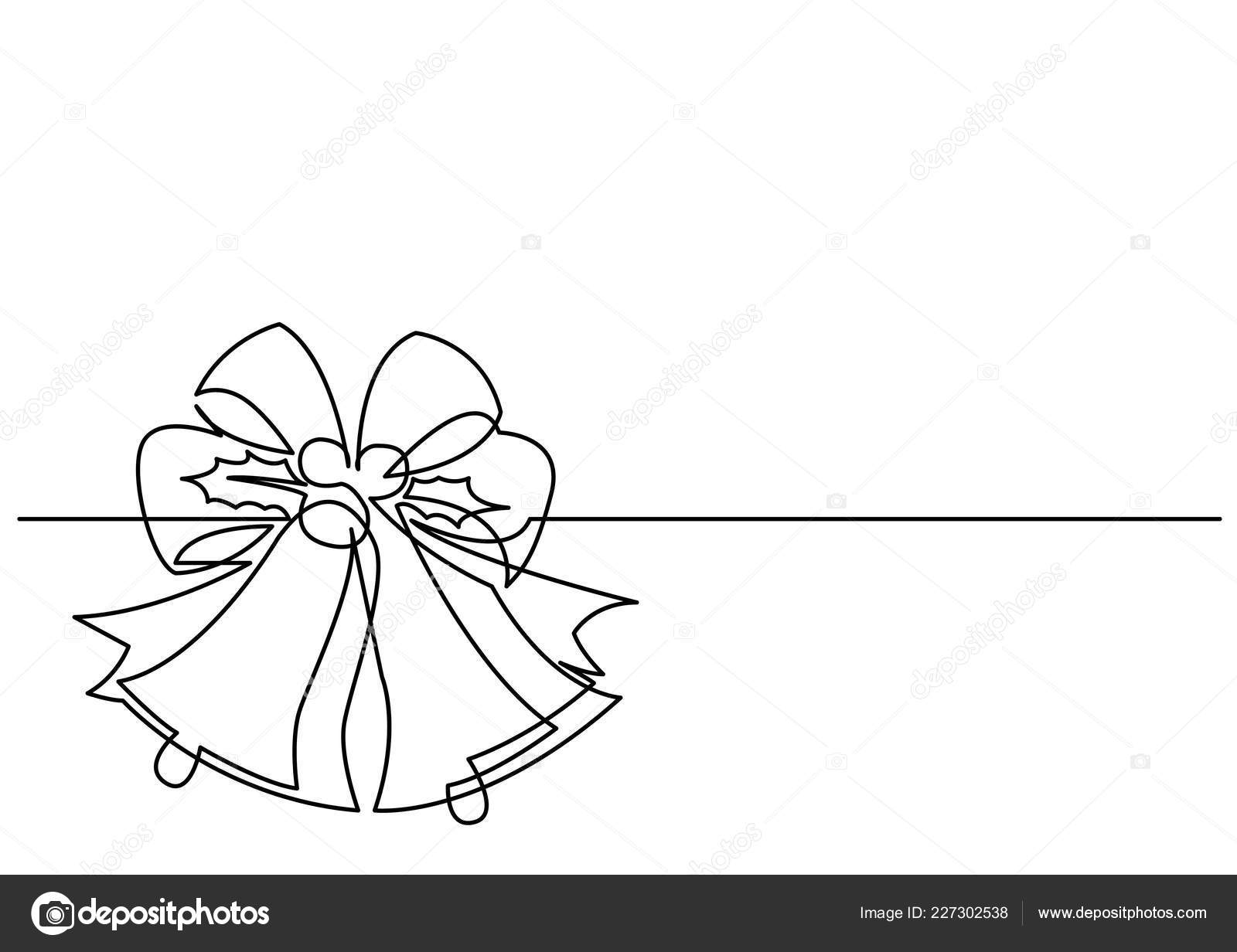 Drawings Of Christmas Ornaments.Drawings Christmas Ornament Drawing Continuous Line