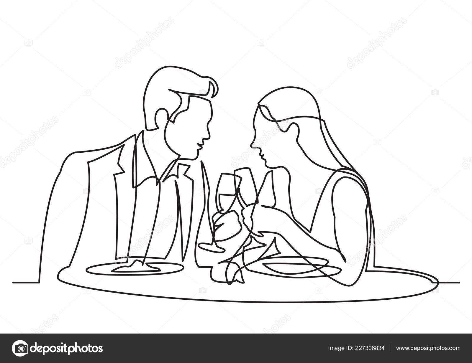 seznamka s restaurací Randění výhradně vs. přítel