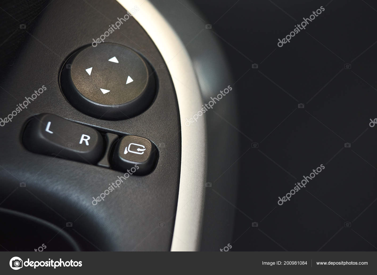 Car Door Lock Button In Car Door Lock Window Button And Side Mirror Adjuster On Car Closeup Symbol Concept For Car Rental Photo By Izikmd