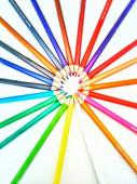 drawing colorful pencils, art tools