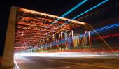éjszakai kilátás a város barcelona, Spanyolország