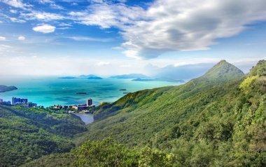 Beautiful seascape scenery. Nature background