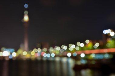 blurred bokeh lights background