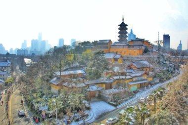 "Картина, постер, плакат, фотообои ""вид на город столицы Китая"", артикул 288736866"