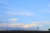 abstrakter Hintergrund von blauem Himmel mit Wolken