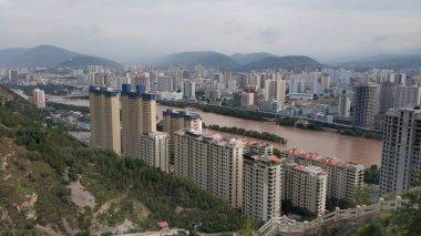 "Картина, постер, плакат, фотообои ""Вид с воздуха на город Хонг"", артикул 298787758"