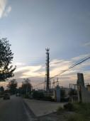 die Straße in der Stadt der Sonne