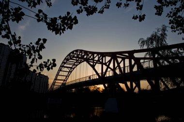 """Картина, постер, плакат, фотообои """"мост через реку"""", артикул 301666354"""