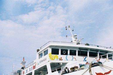 picturesque view of nautical scene