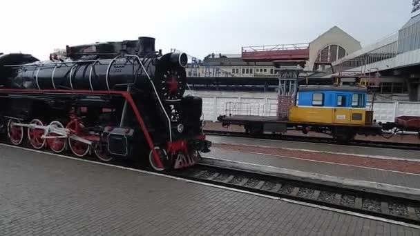 KIEV, UKRAINE - JULY 26, 2018: Railway Museum