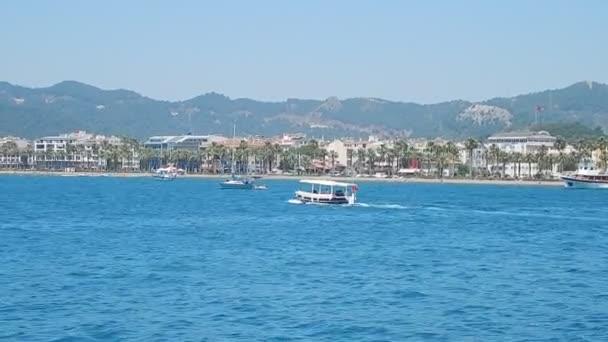 Turizm Marmaris tatil beldesine Türkiye, Doğa ve doku