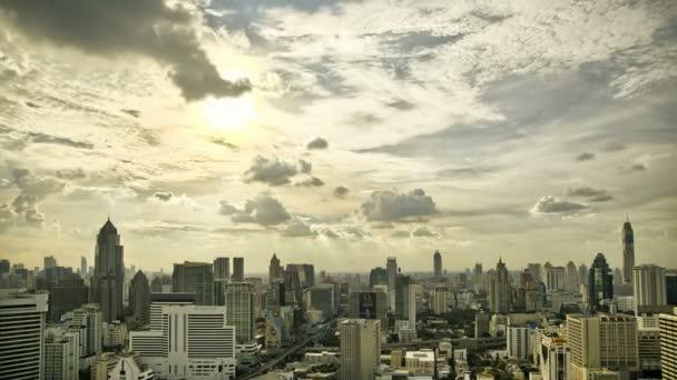 Městské panorama Panorama Timelapse v Hdr