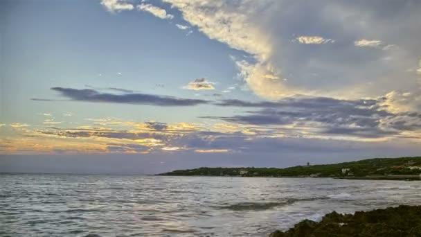 Sea Sunset Timelapse Landscape