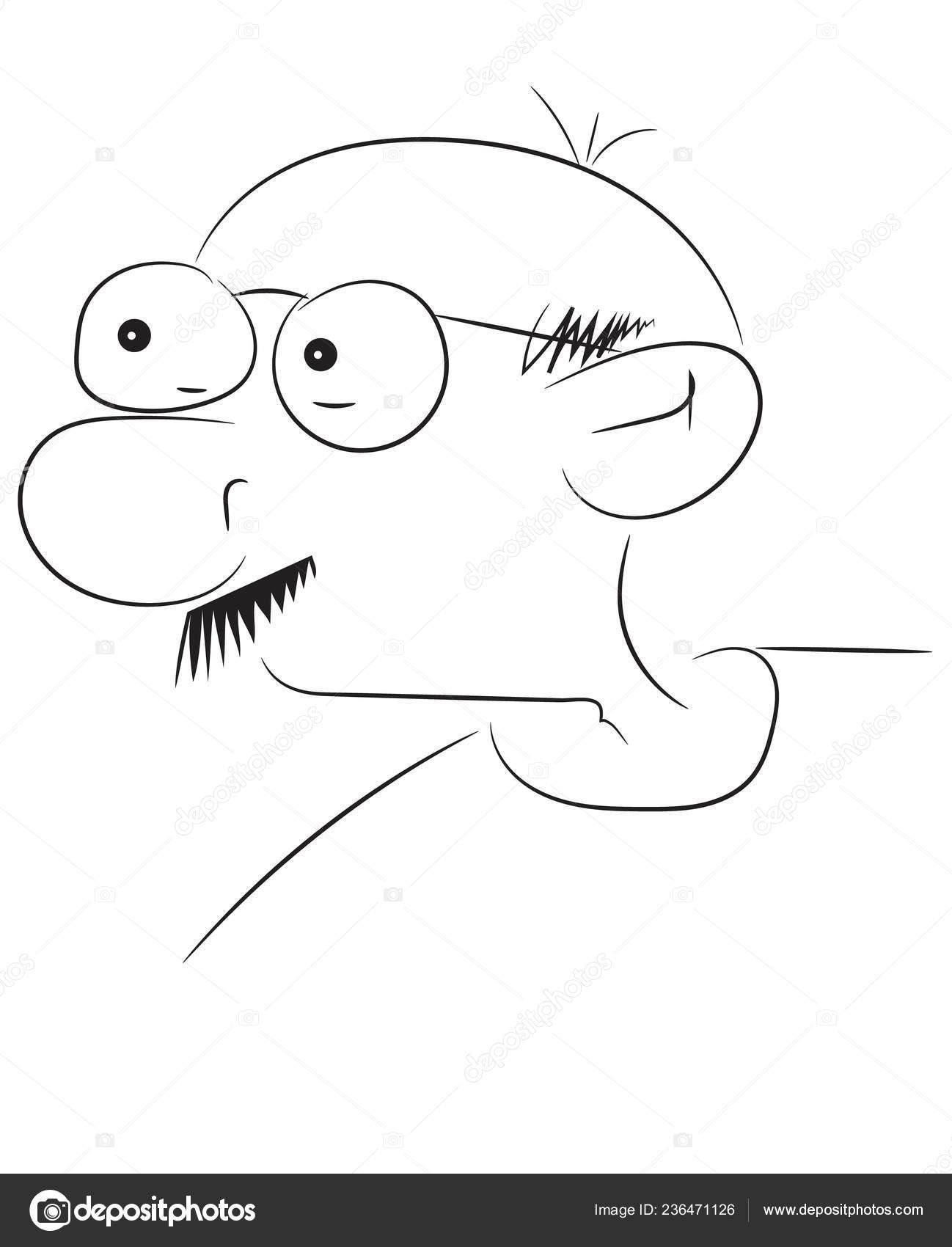 Man Face Sketch Art