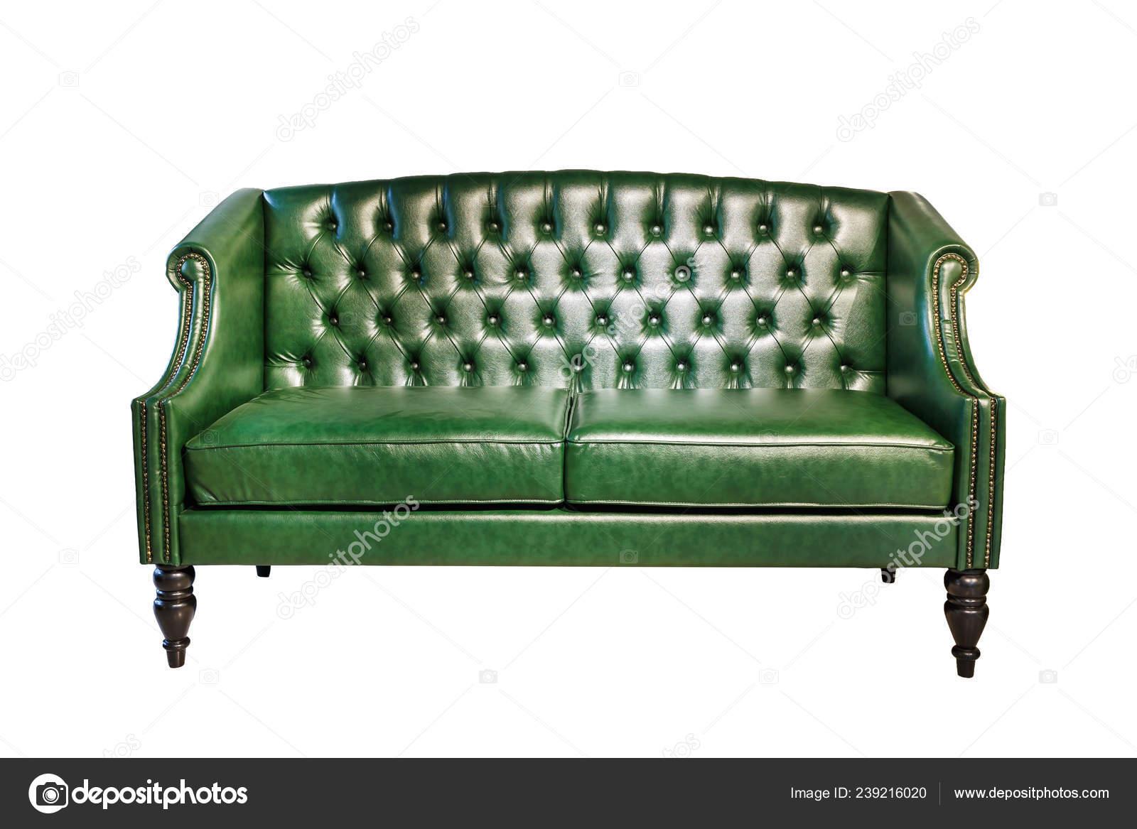 Dark Green Leather Sofa Chester Style Elite Loft Interior ...