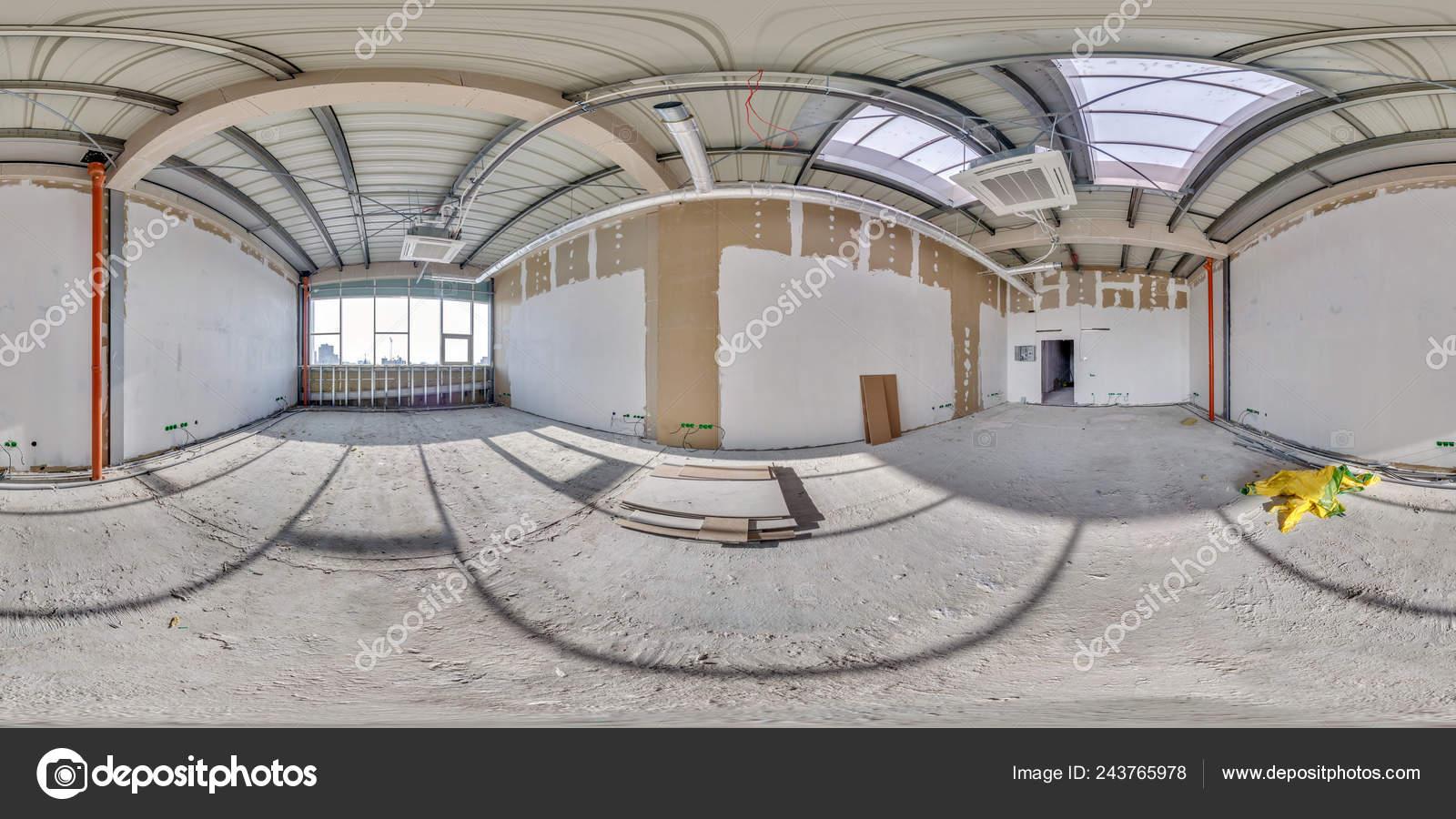 Full Seamless Spherical Hdri Panorama 360 Angle View Interior Empty
