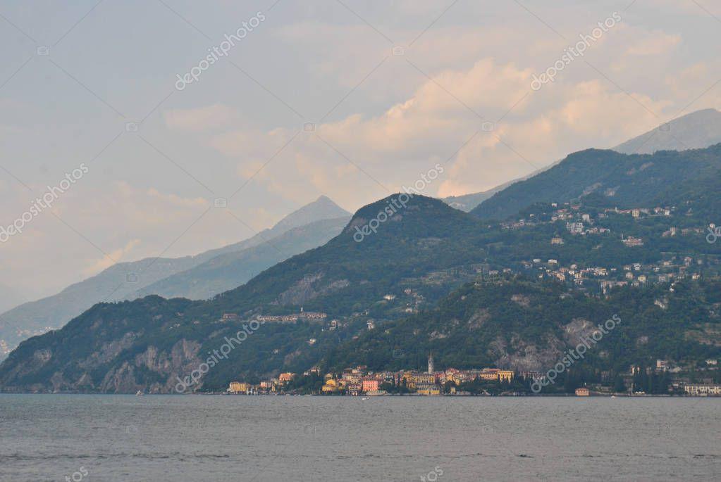 Bellagio, city on the lake Como, Italy