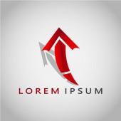 Dies ist ein pfeilförmiges Logo. Dieses Logo kann in verschiedenen Unternehmen verwendet werden, z. B. im Bereich der Technologie, die als Logo auf einer Anwendung verwendet werden kann. es kann auch für andere geschäftliche Zwecke verwendet werden.