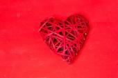 symbol červené srdce na Valentýna