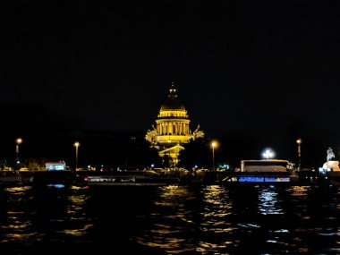 Night View of Saint Isaac Cathedral