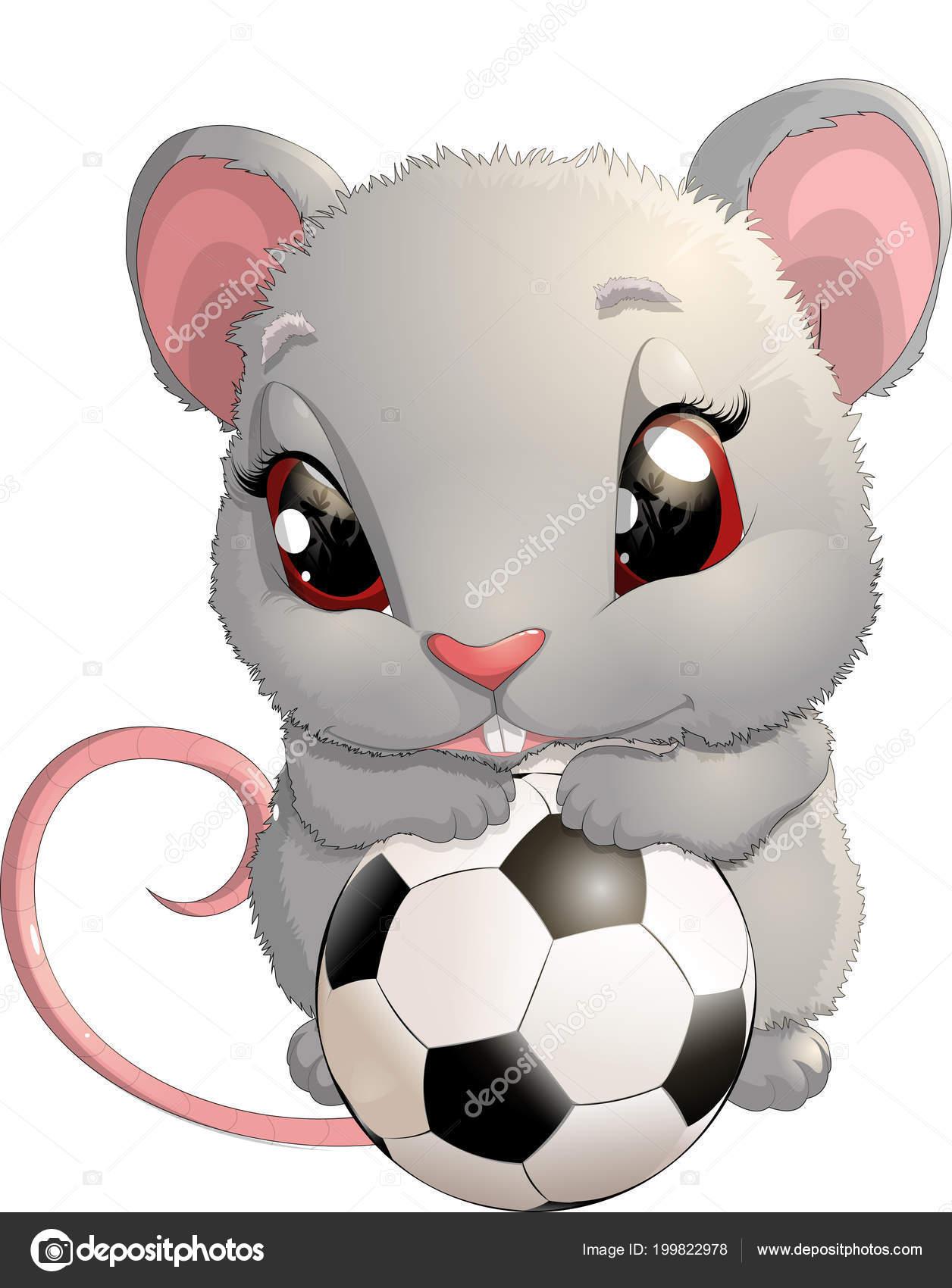 Schöne Süße Maus Stockvektor Andryuha19811 199822978