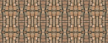 Seamless mosaic. Vintage background. Seamless texture. Mosaic. M