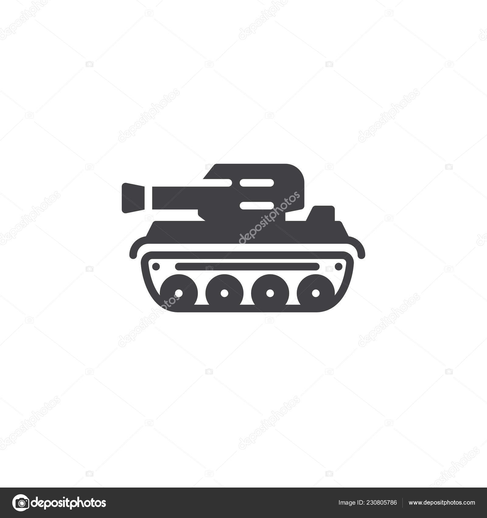 tank icon vector filled flat sign solid pictogram isolated white stock vector c avicons 230805786 https depositphotos com 230805786 stock illustration tank icon vector filled flat html