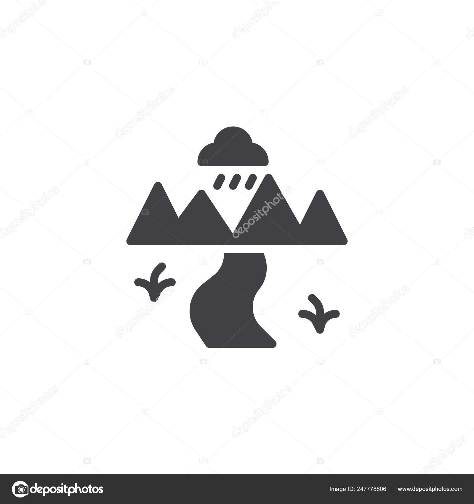 nature landscape river vector icon filled flat sign mobile concept stock vector c avicons 247778806 https depositphotos com 247778806 stock illustration nature landscape river vector icon html