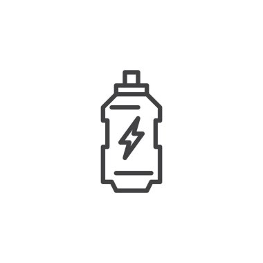 Energy drink outline icon