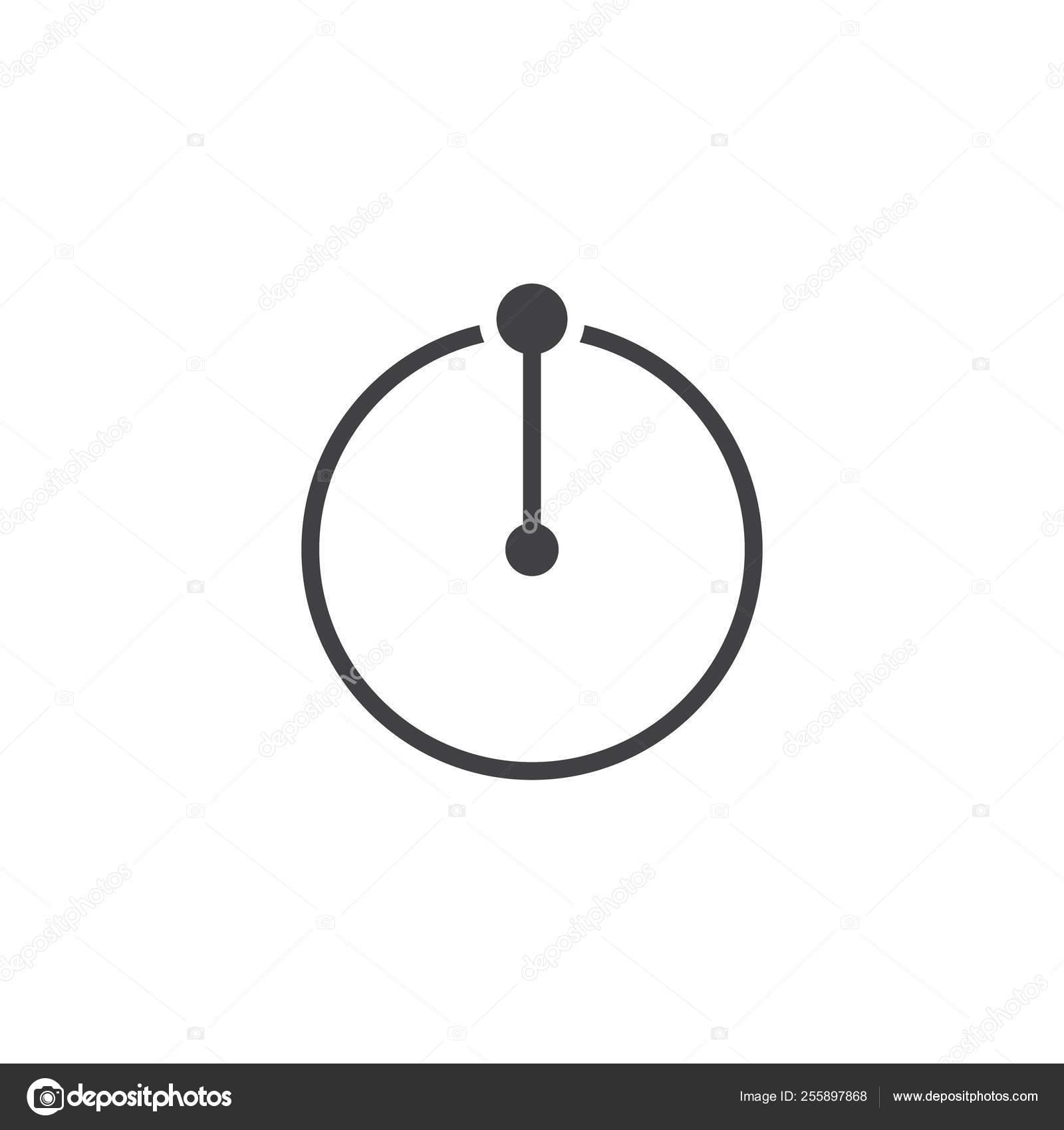 Circle Radius vector icon — Stock Vector © avicons #255897868