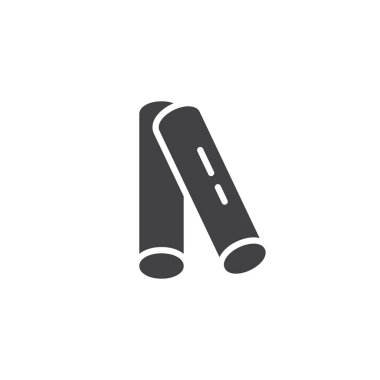 Insect repellent sticks vector icon