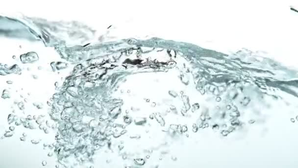 Water wave in super slow motion