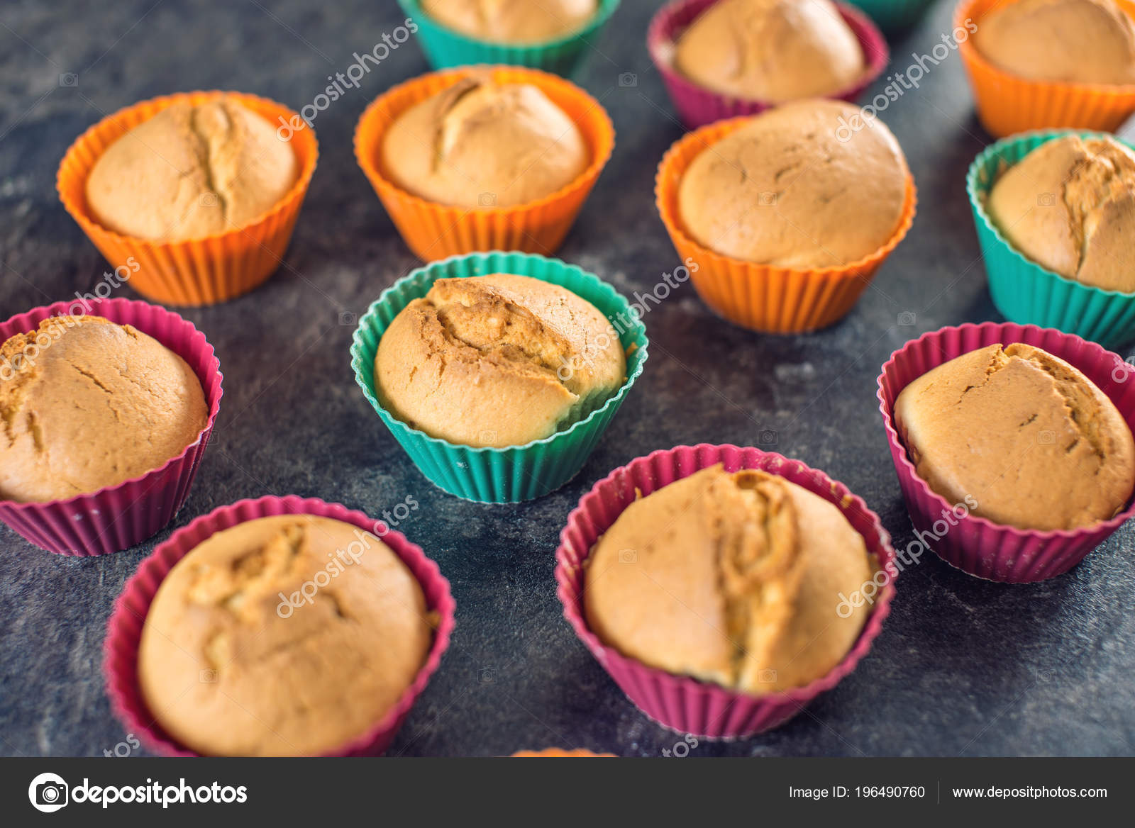 cupcake formar silikon