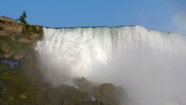 Niagara Falls US side view from below