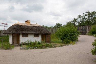 Fortified settlement Ukrainian Cossacks 16-18 centuries