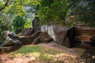 Sigiriya view at spring day