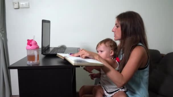 Mutter arbeitet freiberuflich. Kind mischt sich ein. Probleme bei der Freiberuflichkeit