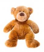 Fotografie hračka medvídek izolovaných na bílém pozadí