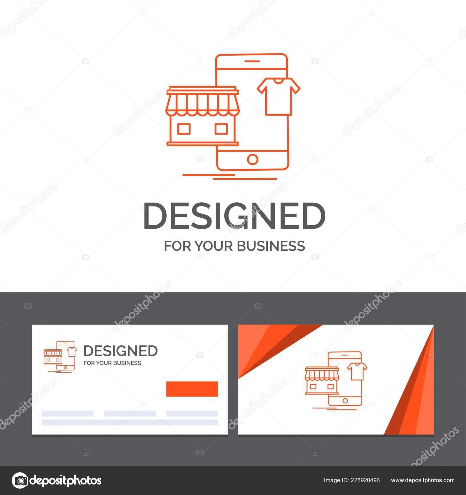Business Logo Vorlage Zum Einkaufen Bekleidung Kaufen Online