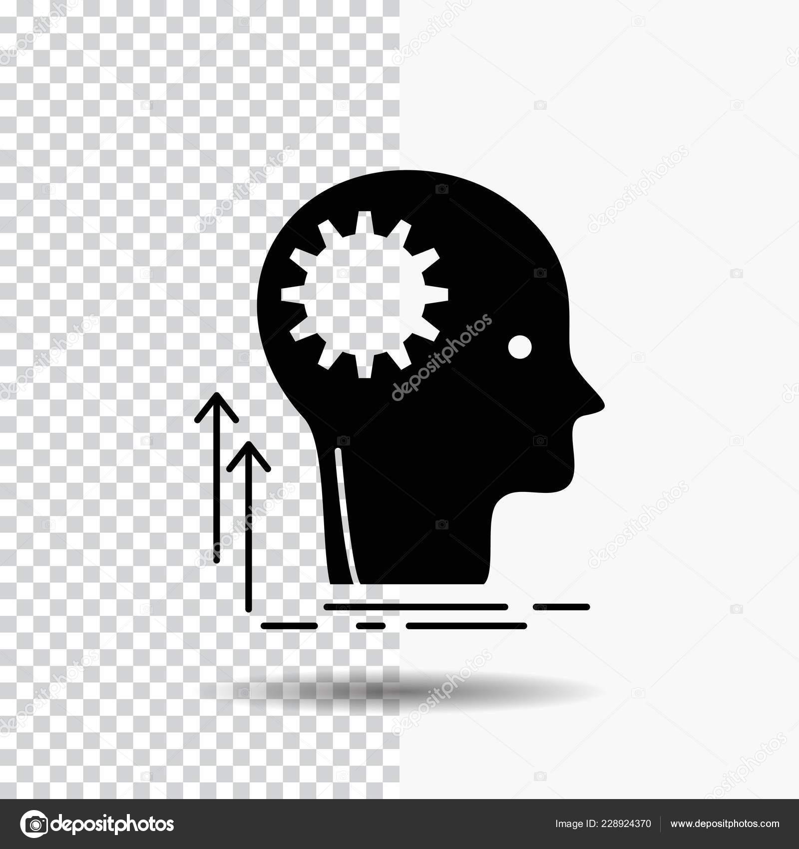 Mind Creative Thinking Idea Brainstorming Glyph Icon