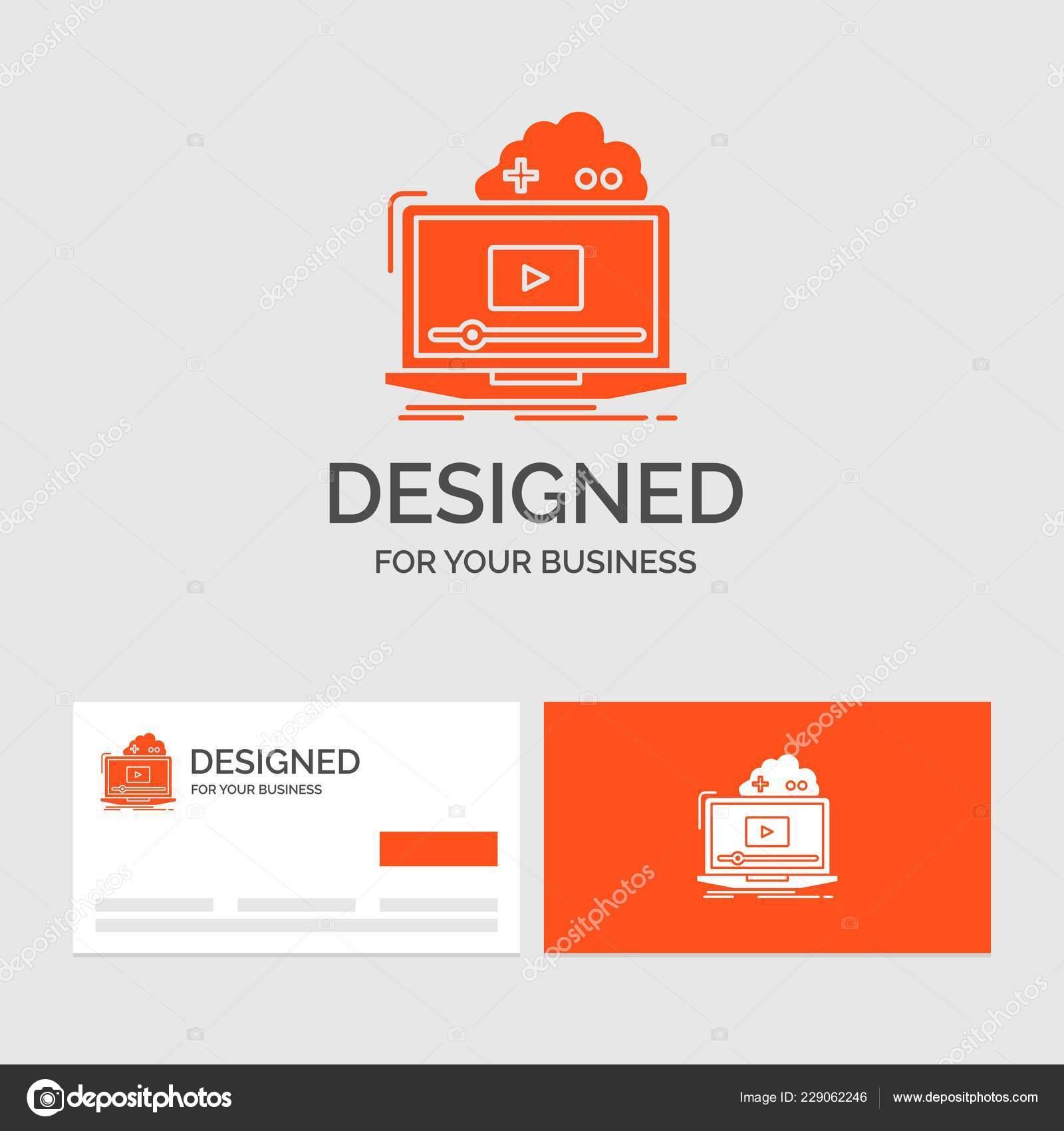 Business Logo Vorlage Für Cloud Spiel Online Streaming Video